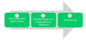 Vorgehensmodell Unternehmensberatung